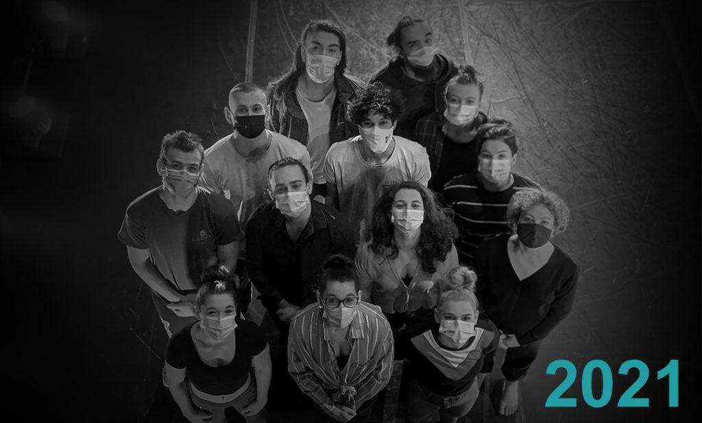 Photo de groupe des finissants 2021